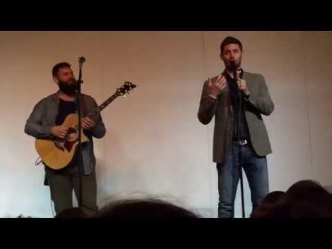COMPLETE  Jensen Ackles, Jason Manns and Timothy Omundson singing at Asylum 14