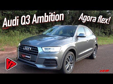 Avaliação Audi Q3 Ambition Flex  Top Speed