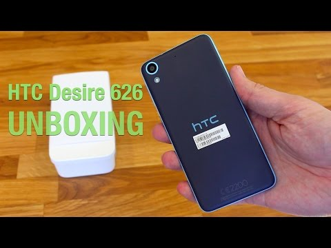 HTC Desire 626 - Unboxing and Hands On