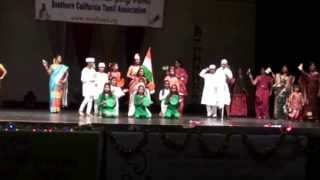 Amazing Indian patriotic song every Indian should watch by Irvine dance group
