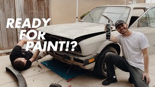 Prepping The E30 FOR PAINT!!