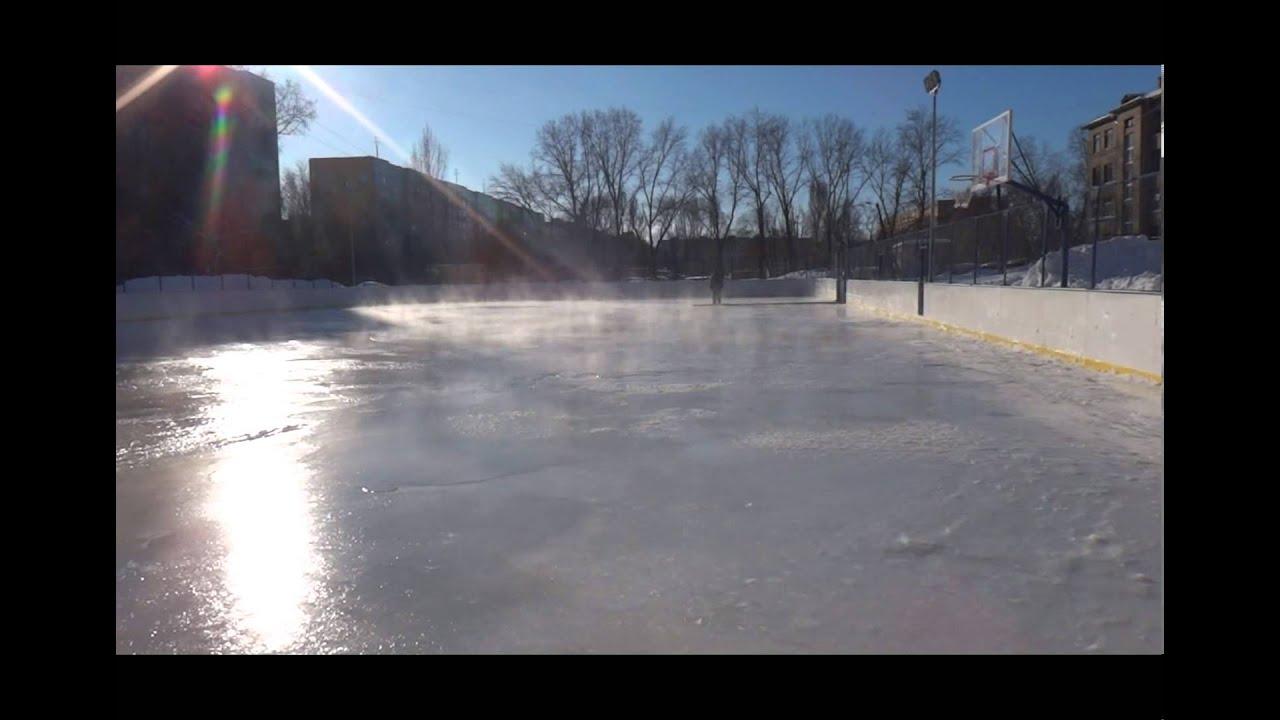 Инструкция по заливке льда