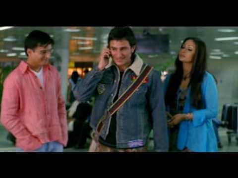 Movie-Hum Tum Airport Scene