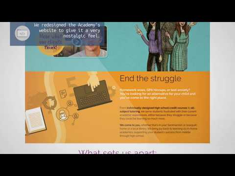 Pacific Learning Academy - Education Web Design / Sammamish, WA