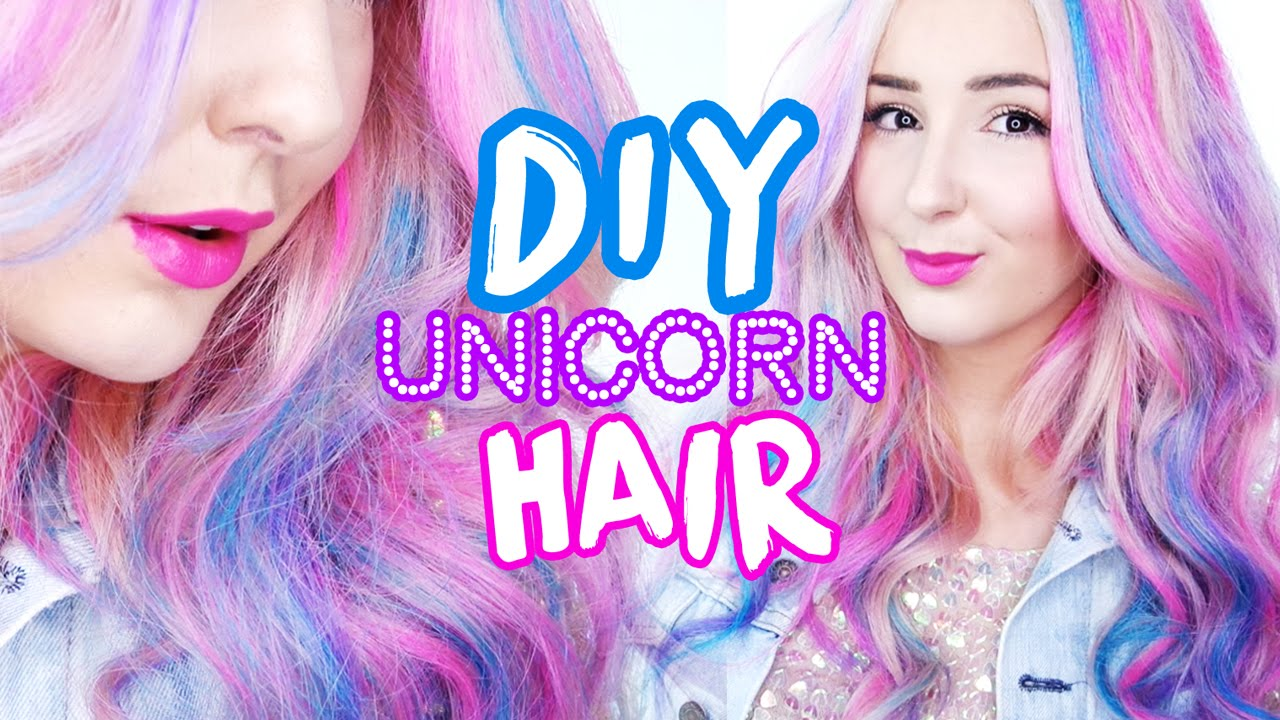 How to unicorn hair temporary dye by tashaleelyn youtube youtube premium solutioingenieria Image collections