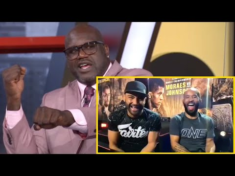 ONE X NBA On TNT | DJ & Eddie REACT To Shaq vs. Charles Barkley