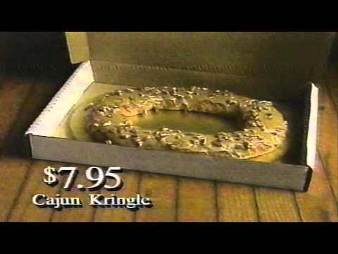 Cajun Kringle Haydel S Bakery Commercial New Orleans 1994