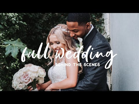 Wedding Photography Behind
