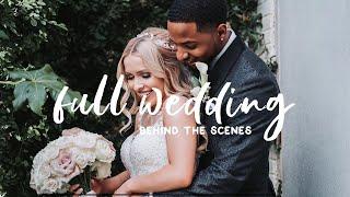 Wedding Photography Behind The Scenes - FUJIFILM XT3 Full Wedding Day
