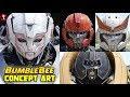 Bumblebee Concept Art Videos