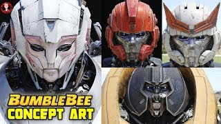 Bumblebee Movie Concept Art: Making of Cybertronian Robots