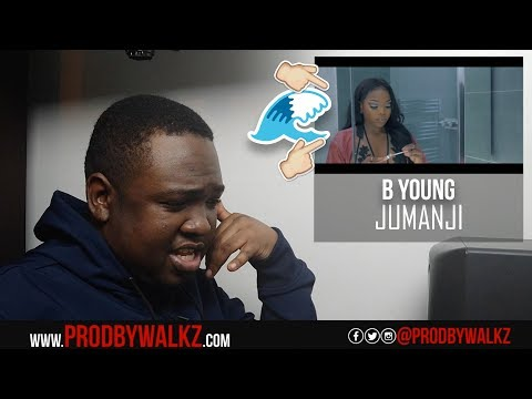 B Young - Jumanji (Prod. By AntiWave) [Music Video] | GRM Daily (REACTION)