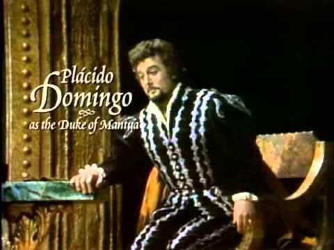 Placido Domingo La donna e mobile Rigoletto live 1977