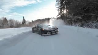 Нереально крутой ДРИФТ в зимнем русском лесу