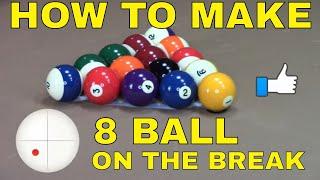 8 Ball On The Break