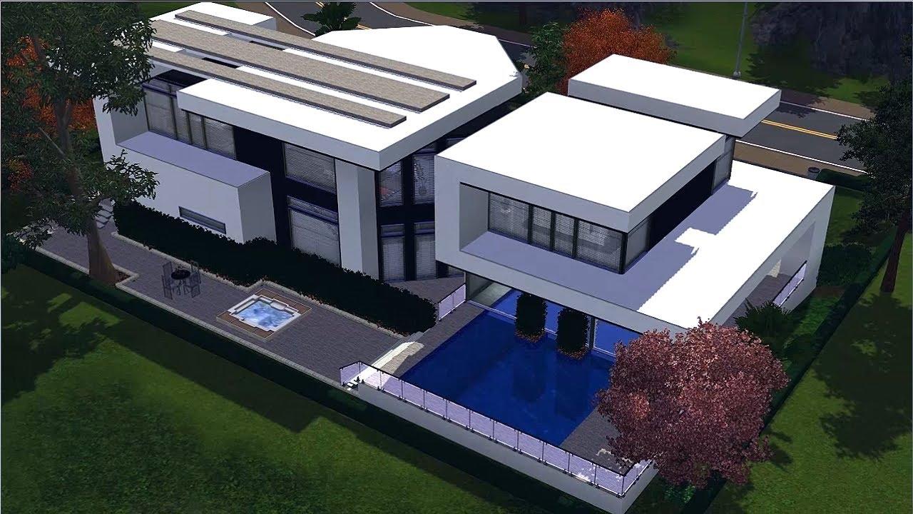 The sims 3 house ultra modern b home 2 youtube