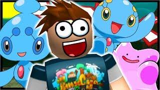 DITTO & MANAPY BREEDING = PHIONE MYTHICAL!! | Roblox Pokemon Brick Bronze | Ep 50