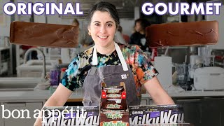 Download Pastry Chef Attempts to Make Gourmet Milky Way Bars   Gourmet Makes   Bon Appétit Mp3 and Videos