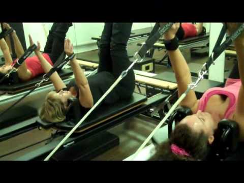 A Pilates Reformer Class - On The STOTT PILATES Reformer