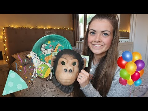Jungle Theme Party Supply Haul || 1st & 5th Birthday Prep! 🎈🐻🐼🐯🦁🐵🌿🌴