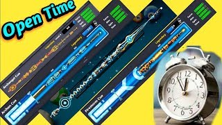 How to Open Archangel Archon Firestorm big cues free   Tips for 8 ball players   Best Time to open.
