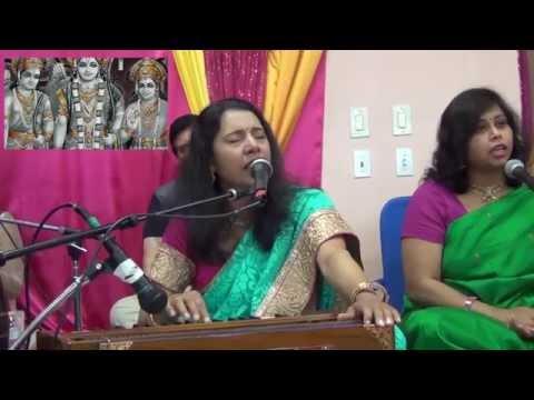 [Bhojpuri Live in USA] Ram Vivah Geet - Aaj Janakpur Mein - Swasti Pandey & Group