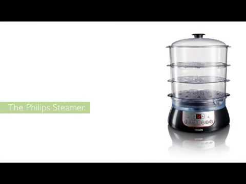 Philips Steamer - Uw eten was nog nooit zo smakelijk