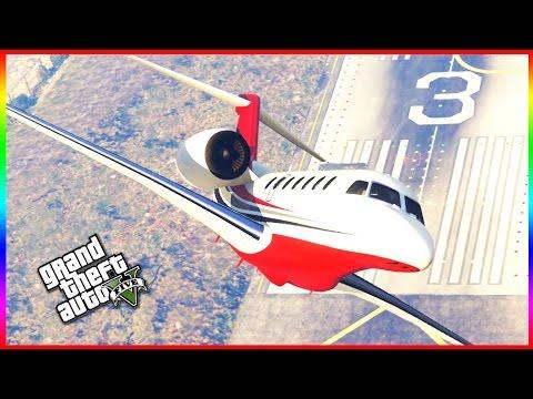 GTA 5 DLC - CEO MILLIONAIRE CUSTOM PRIVATE JET (FINANCE & FELONY)