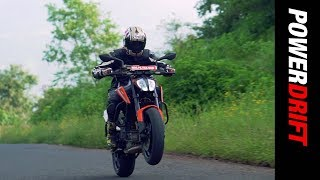 KTM 790 Duke : Firepower at will : PowerDrift