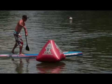 Starboard SUP Racing Techniques  with Titouan Puyo