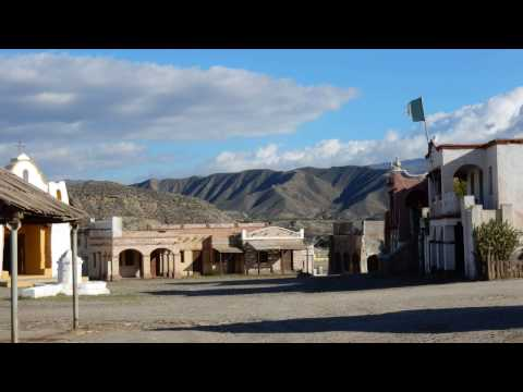 Spaghetti Western film set Southern Spain