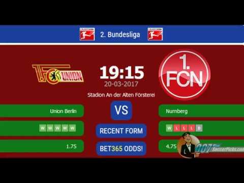 Union Berlin vs Nurnberg PREDICTION (by 007Soccerpicks.com)