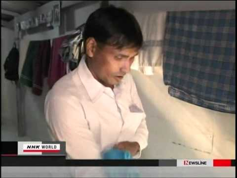 NHK World News interviewed on Burmese Rohingya, member of (BRAT)  from Thailand