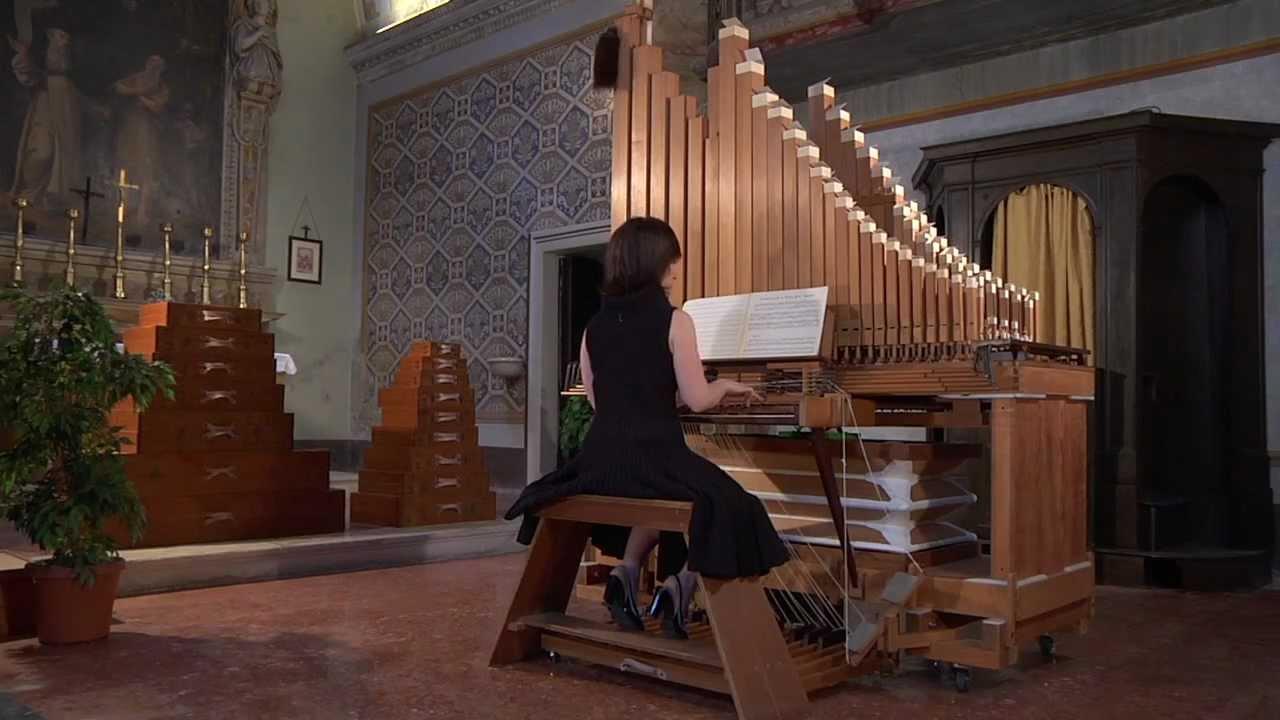 l 39 organo portativo a canne di legno di giorgio questa