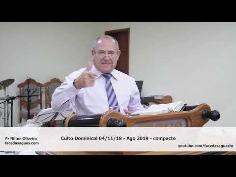 Face Das Águas - Culto Dominical 04 11 18 Ago 2019 - Compacto