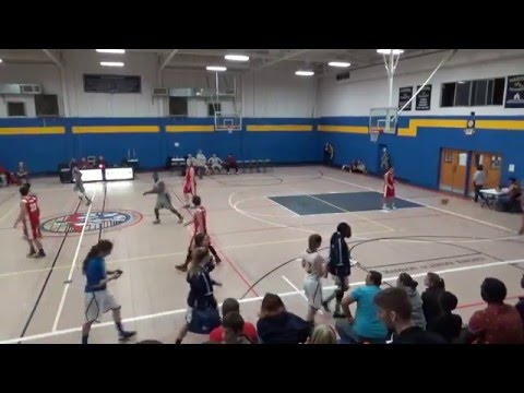 Western Kentucky Trailblazers vs Mohican Youth Academy 12-29-2015