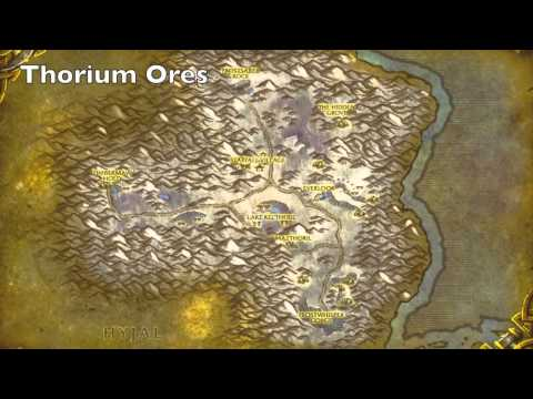 Where To Mine In WoW