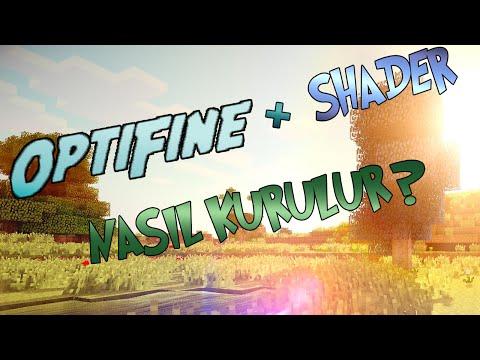 OPTİFİNE + SHADER NASIL KURULUR ?