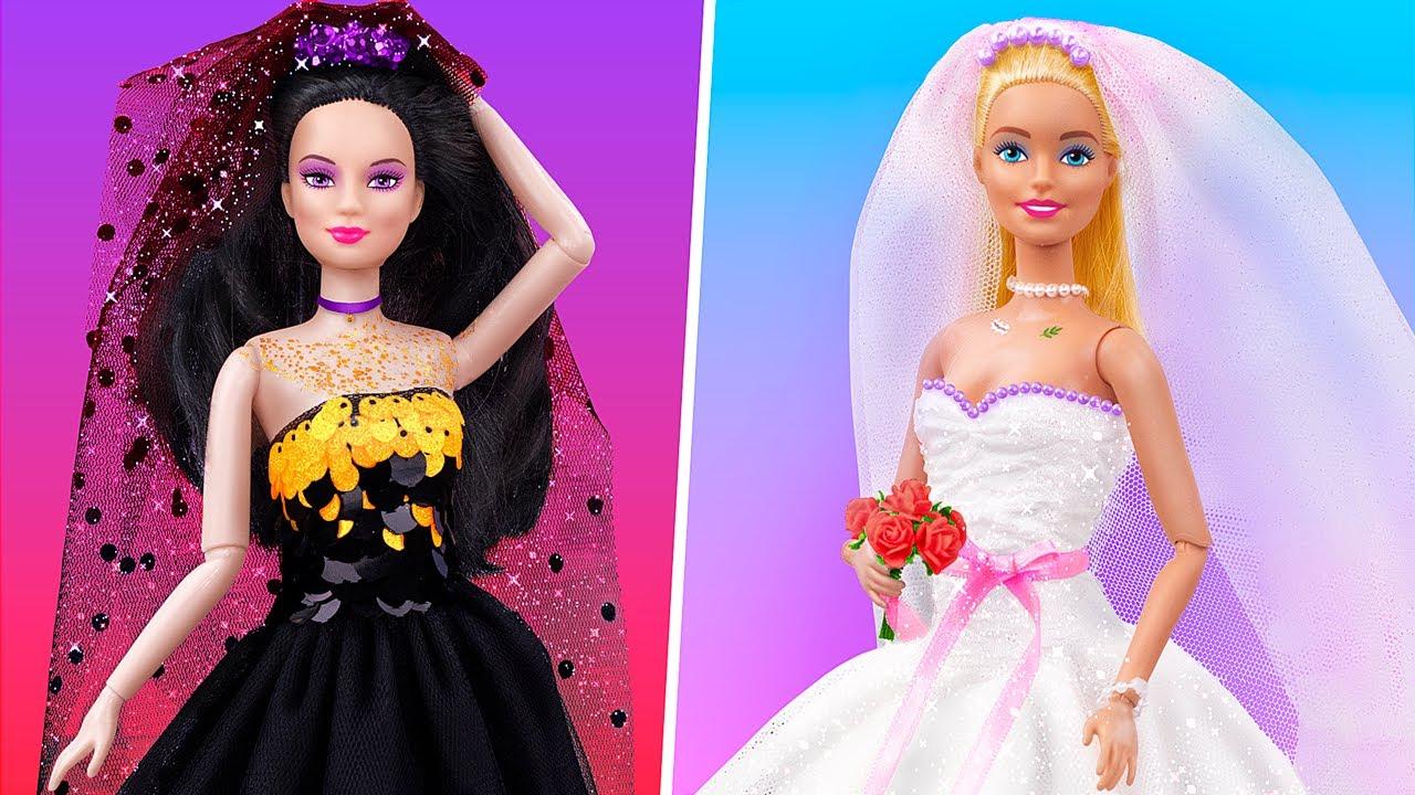 12 Trucos y Manualidades para Barbie / Ideas Para una Boda de Muñecas