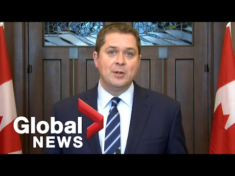 Scheer says protesters behind 'illegal' rail blockades 'need to check their privilege'