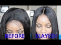 How To Transform A Basic Wig To Look Natural | Tutorial | EverBeautyOnline.com