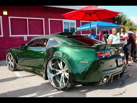The Best Wide Body Camaro Out On Forgiato Wheels In Hd Must See