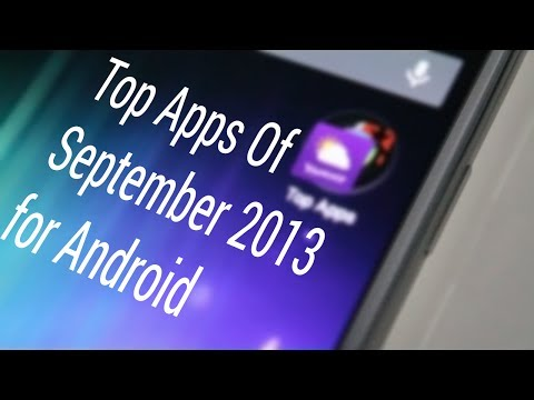 Top Best FREE Android Apps of September 2013