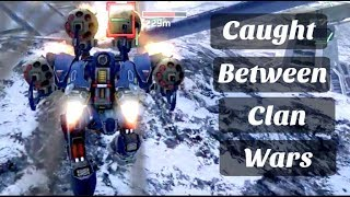 Caught Between Clan Wars - ᎠᎥsᏟ Vs ᏢᎽᏟb | War Robots [WR]