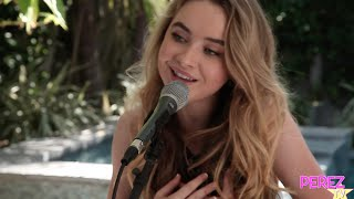 "Sabrina Carpenter - ""The Middle Of Starting Over"" (Exclusive Perez Hilton Acoustic)"