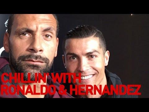 Chillin' with Ronaldo & Hernandez | Rio Vlogs