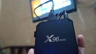 X96 Mini 4K Smart Tv Box Unboxing And Review ! 2GB Ram & 16GB Rom