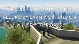 GTA 5 How Much GTA 5 Earn Since Its Release |Saifi Tech|
