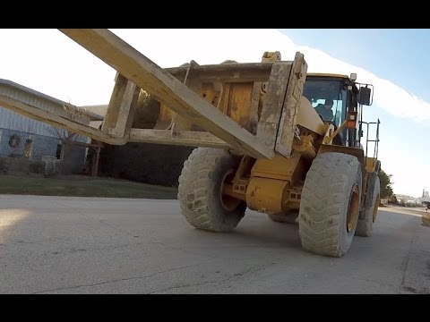 Heavy Haul TV: Episode 284; Delivery of CAT 966H in Wisconsin