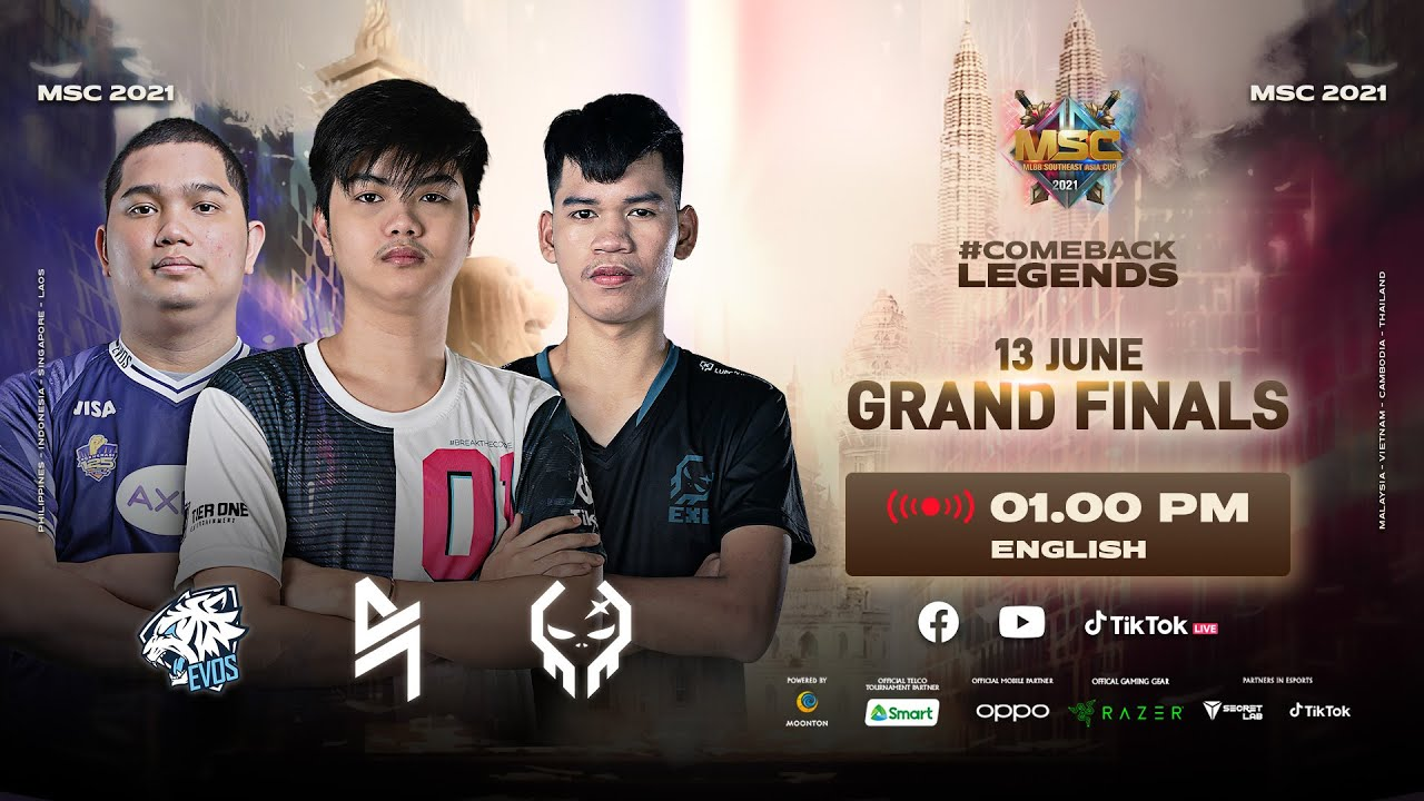 Download [English] MSC Playoff Day 3 | MLBB Southeast Asia Cup 2021